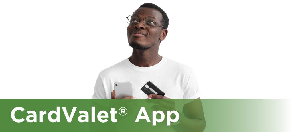 CardValet, Card Management App