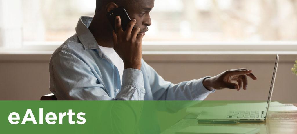 eAlerts, Online Banking Alerts, Alerts