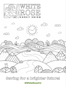 Saving for a Brighter Future Coloring Activity
