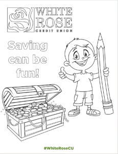 Savings Can Be Fun Coloring Activity