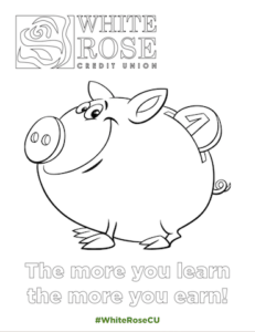 The More You Learn Coloring Activity